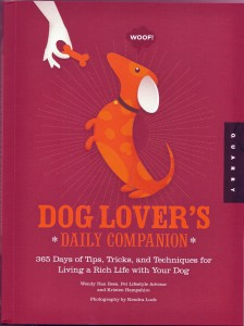 Wendy Nan Rees Dog Lovers Daily Companion Paper Back Book 2011